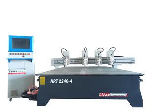 NRT2240AS伺服四X四Z铝板铣切/钻孔/打标雕刻机